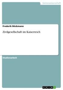 Zivilgesellschaft im Kaiserreich