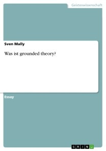 Was ist grounded theory?