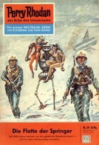 Perry Rhodan 29: Die Flotte der Springer
