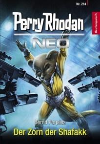 Perry Rhodan Neo 214: Der Zorn der Shafakk